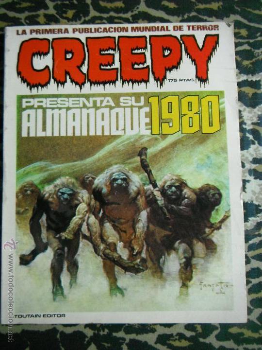 CREEPY ALMANAQUE 1980 TOUTAIN (Tebeos y Comics - Toutain - Creepy)