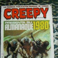 Cómics: CREEPY ALMANAQUE 1980 TOUTAIN. Lote 173815353