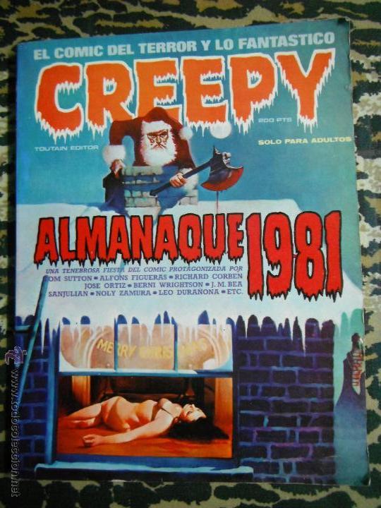 CREEPY ALMANAQUE 1981 TOUTAIN (Tebeos y Comics - Toutain - Creepy)