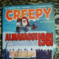 Cómics: CREEPY ALMANAQUE 1981 TOUTAIN. Lote 47239921