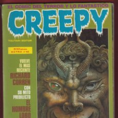 Cómics: EL CREEPY-COMIC DEL TERROR Y LO FANTASTICO-Nº 61-62-63-64-TOUTAIN EDITOR-1984-BARCELONA*. Lote 47483858