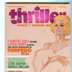 Cómics: THRILLER Nº5 COMICS Y CUENTOS NEGROS AÑO 1984 BUEN ESTADO. Lote 47498385