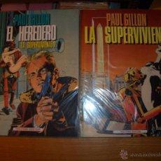 Fumetti: LA SUPERVIVIENTE 2 TOMOS - PAUL GUILLON. Lote 47665349