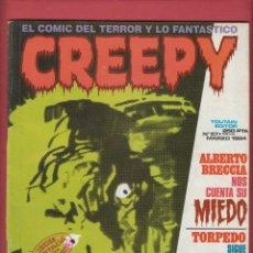 Cómics: CREEPY-Nº57-EL COMIC DEL TERROR Y LO FANTASTICO-ED.TOUTAIN-1984-PG64-IMPRESO EN ESPAÑA*. Lote 47776405