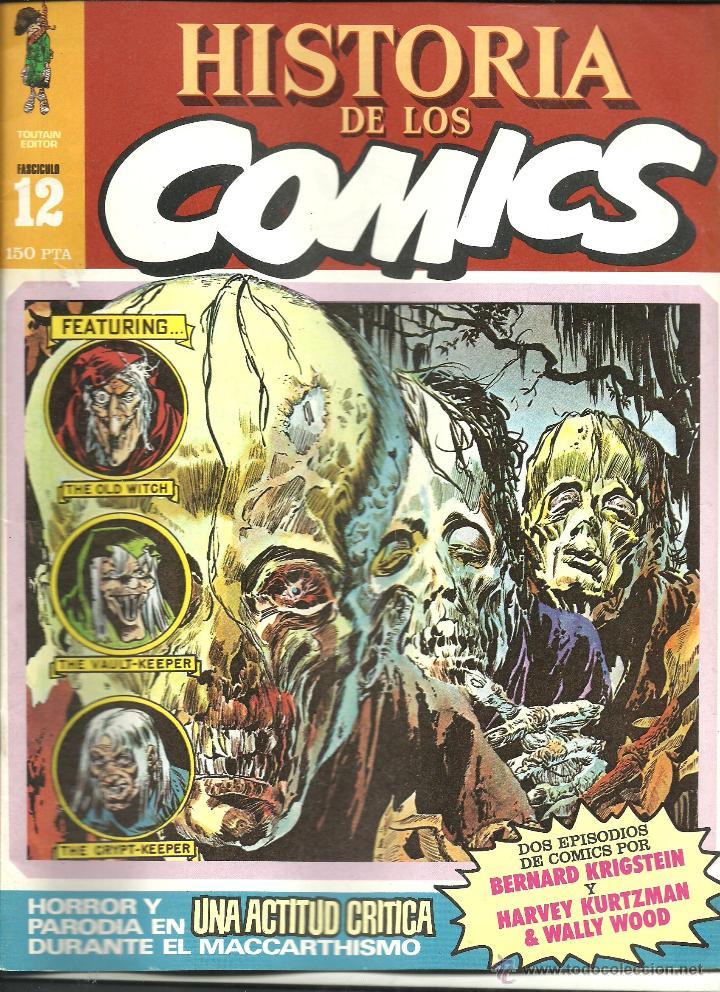HISTORIA DE LOS CÓMICS NÚMERO 12 TOUTAIN EDITOR (Tebeos y Comics - Toutain - Otros)