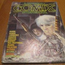 Cómics: COMIX INTERNACIONAL 21. Lote 47844649