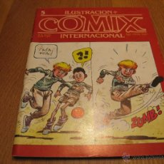 Cómics: COMIX INTERNACIONAL 5. Lote 47844658