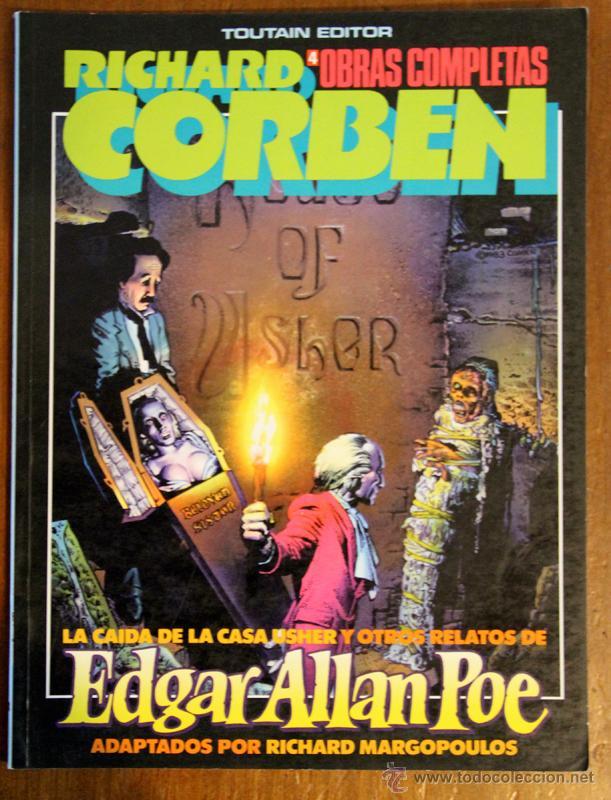 OBRAS COMPLETAS RICHARD CORBEN Nº4. EDGAR ALLAN POE (Tebeos y Comics - Toutain - Obras Completas)