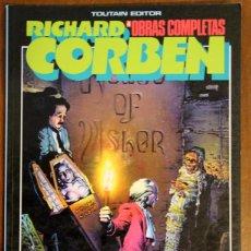 Cómics: OBRAS COMPLETAS RICHARD CORBEN Nº4. EDGAR ALLAN POE. Lote 47927393