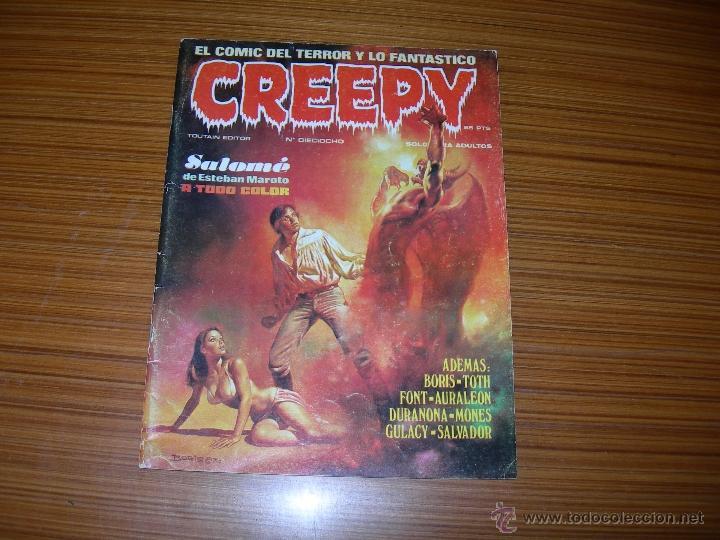 CREEPY Nº 18 DE TOUTAIN (Tebeos y Comics - Toutain - Creepy)