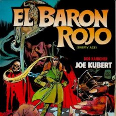 Cómics: EL BARÓN ROJO (ENEMY ACE). BOB KANINGHER, JOSE KUBERT. TOUTAIN, 1984. Lote 48010967