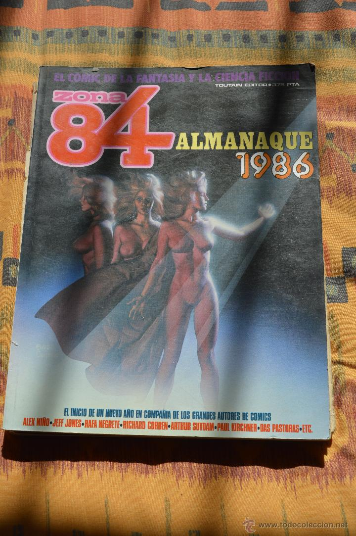 ZONA 84 REVISTA DE CIENCIA FICCIÓN ALMANAQUE 1986 (Tebeos y Comics - Toutain - Zona 84)