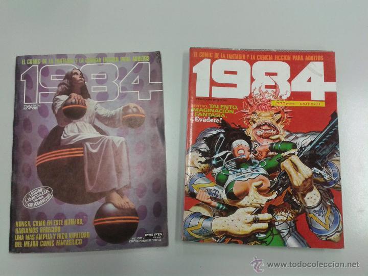 PACK 1984 TOUTAIN EDITOR NºS 59, 49,50 Y 51 (EN EL EXTRA Nº9) VARIOS AUTORES (Tebeos y Comics - Toutain - 1984)