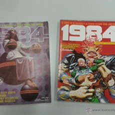 Cómics: PACK 1984 TOUTAIN EDITOR NºS 59, 49,50 Y 51 (EN EL EXTRA Nº9) VARIOS AUTORES. Lote 48631249
