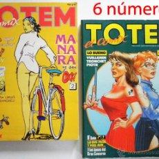 Cómics: TÓTEM EL CÓMIX - LOTE DE 2 RETAPADOS ( 6 CÓMICS ) - CÓMIC PARA ADULTOS - TOUTAIN - 43 44 45 58 59 60. Lote 48729535