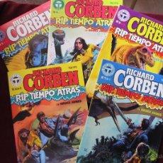 Fumetti: RIP, TIEMPO ATRAS. RICHARD CORBEN. COMPLETA 5 NºS. TOUTAIN EDITOR, 1988. COMO NUEVOS TEBENI. Lote 216956195