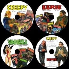 Cómics: COLECCION COMPLETA CREEPY - EERIE - VAMPIRELLA-1984-1994- DE WARREN + DVD EC - FORMATO PDF - 7 DVD'S. Lote 140343224