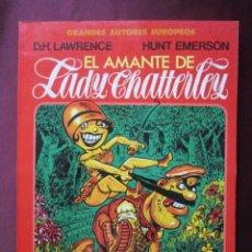 Cómics: EL AMANTE DE LADY CHATTERLEY. D.H. LAWRENCE, HUNT EMERSON COL. GRANDES AUTORES EUROPEOS TOUTAIN 1987. Lote 49741623