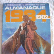 COMIC 1984 ALMANAQUE TOUTAIN 1982
