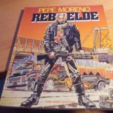 Fumetti: REBELDE (PEPE MORENO) TOUTAIN (COIB68). Lote 49329292