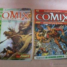 Cómics: COMIX INTERNACIONAL LOTE DE 2 REVISTAS NÚMEROS 41 Y 42. Lote 49333093
