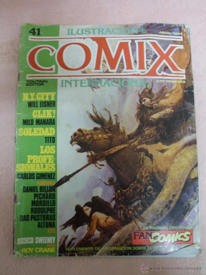Cómics: COMIX INTERNACIONAL LOTE DE 2 REVISTAS NÚMEROS 41 Y 42 - Foto 2 - 49333093