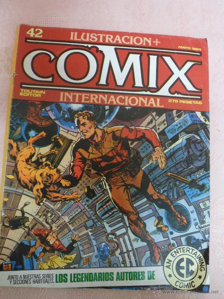 Cómics: COMIX INTERNACIONAL LOTE DE 2 REVISTAS NÚMEROS 41 Y 42 - Foto 3 - 49333093
