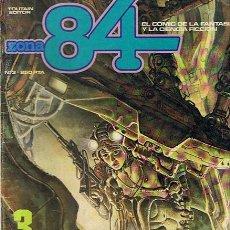Cómics: CÓMIC ZONA 84 Nº 3. Lote 49687381