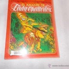 Cómics: GRANDES AUTORES EUROPEOS Nº 7 EL AMANTE DE LADY CHATTERLEY. Lote 49948967