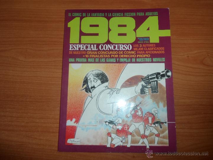 1984 ESPECIAL CONCURSO Nº 2 TOUTAIN (Tebeos y Comics - Toutain - 1984)