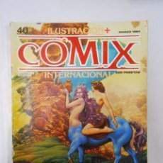 Cómics: COMIX INTERNACIONAL. ILUSTRACION + Nº 40. TOUTAIN EDITOR. MARZO 1984. TDKC10. Lote 50453794