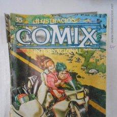 Cómics: COMIX INTERNACIONAL. ILUSTRACION + Nº 35. TOUTAIN EDITOR. OCTUBRE 1983. TDKC10. Lote 50453816