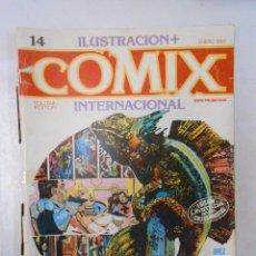 Cómics: COMIX INTERNACIONAL. ILUSTRACION + Nº 14. TOUTAIN EDITOR. ENERO 1982. TDKC10. Lote 50453831