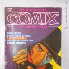 Cómics: COMIX INTERNACIONAL. ILUSTRACION + Nº 47. TOUTAIN EDITOR. LA SOMBRA. FRANK ROBBINS. TDKC10. Lote 50453960