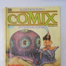 Cómics: COMIX INTERNACIONAL. ILUSTRACION + Nº 58. TOUTAIN EDITOR. TDKC10. Lote 50454437