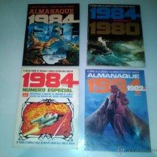 Cómics: 4 COMICS 1984 - ALMANAQUES Y NUMERO ESPECIAL. Lote 50507211