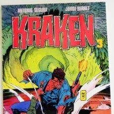 Cómics: KRAKEN - Nº 3 - CÓMIC NUEVO - TOUTAIN EDITORES - ANTONIO SEGURA - JORDI BERNET. Lote 34944033