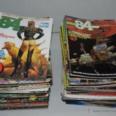 Cómics: (M) ZONA 84 EL COMIC DE LA FANTASIA Y LA CIENCIA FICCION , COMPLETA !!!! 96 NUM + 3 ALMANAQUES +. Lote 50595604