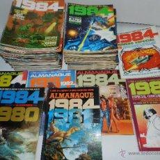 Cómics: (M) REVISTA 1984 COMIC DE FANTASIA Y CIENCIA FICCION PARA ADULTOS, COMPLETA !!! 64 NUM + ALMANAQUES+. Lote 50596012
