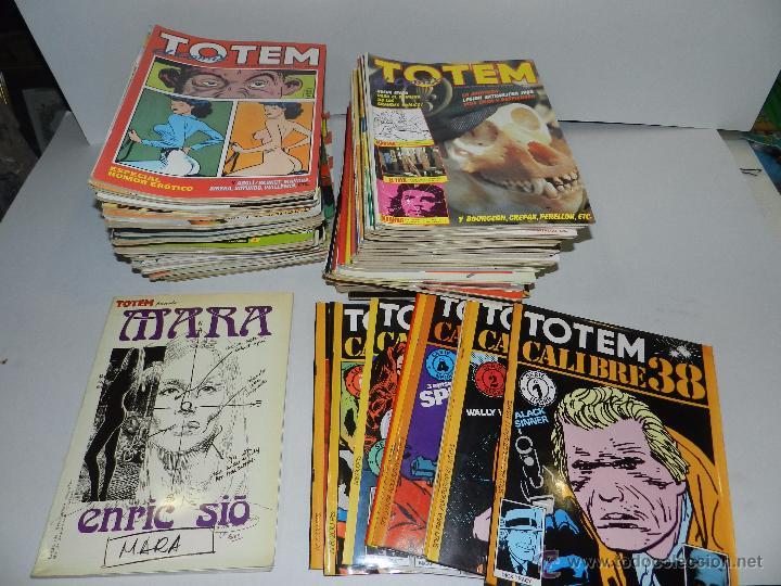 (M) TOTEM EL COMIX DEL NUM 1 AL NUM 66 + 8 NUMEROS DE TOTEM CALIBRE 38 + TOTEM ENRIC SIO (Tebeos y Comics - Toutain - Otros)