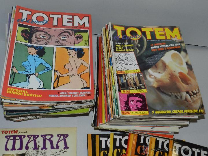 Cómics: (M) TOTEM EL COMIX DEL NUM 1 AL NUM 66 + 8 NUMEROS DE TOTEM CALIBRE 38 + TOTEM ENRIC SIO - Foto 2 - 50596703