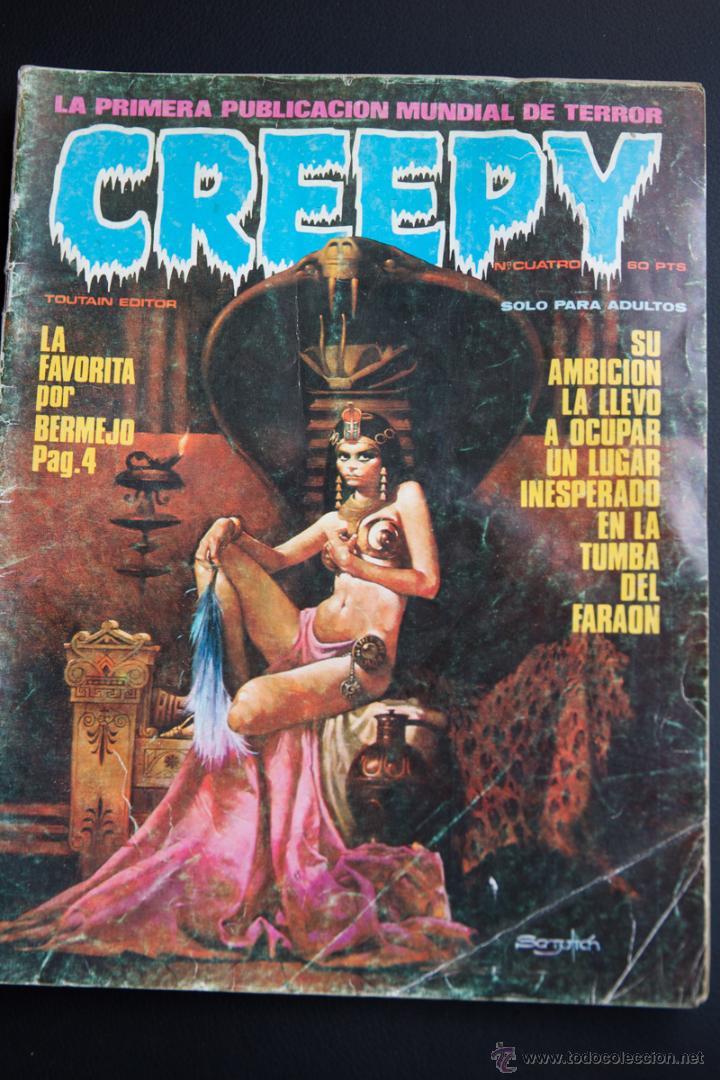 COMIC 1984 N º 4 TOUTAIN (Tebeos y Comics - Toutain - Creepy)