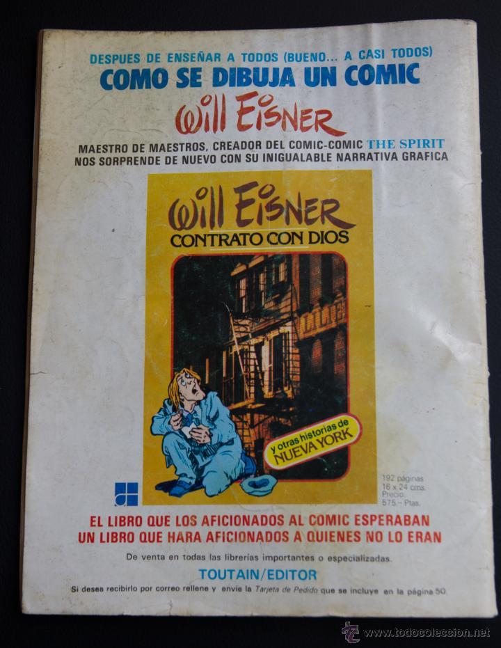 Cómics: COMIC 1984 N º 4 TOUTAIN - Foto 2 - 50704771