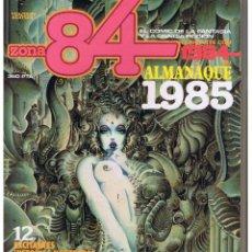 Fumetti: ZONA 84. ALMANAQUE 1985. TOUTAIN. (RF.MA) C/39.. Lote 50718755