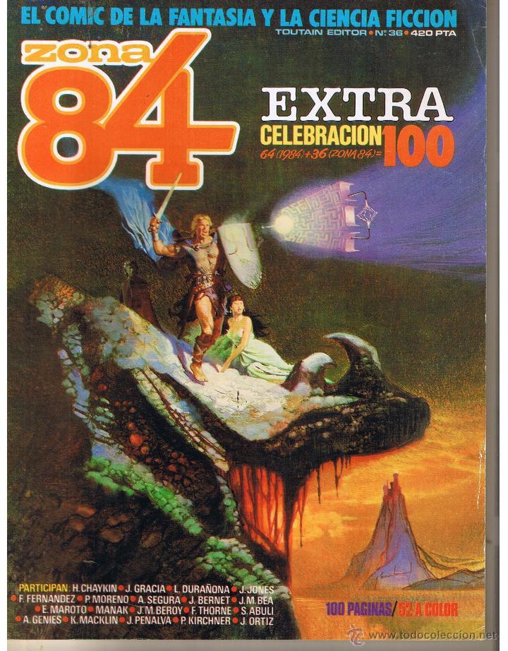 ZONA 84. EXTRA CELEBRACION 100. TOUTAIN EDITOR. (RF.MA) C/39. (Tebeos y Comics - Toutain - Zona 84)
