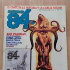 Cómics: LOTE DE 4 NÚMEROS DE ZONA 84. Lote 50957249