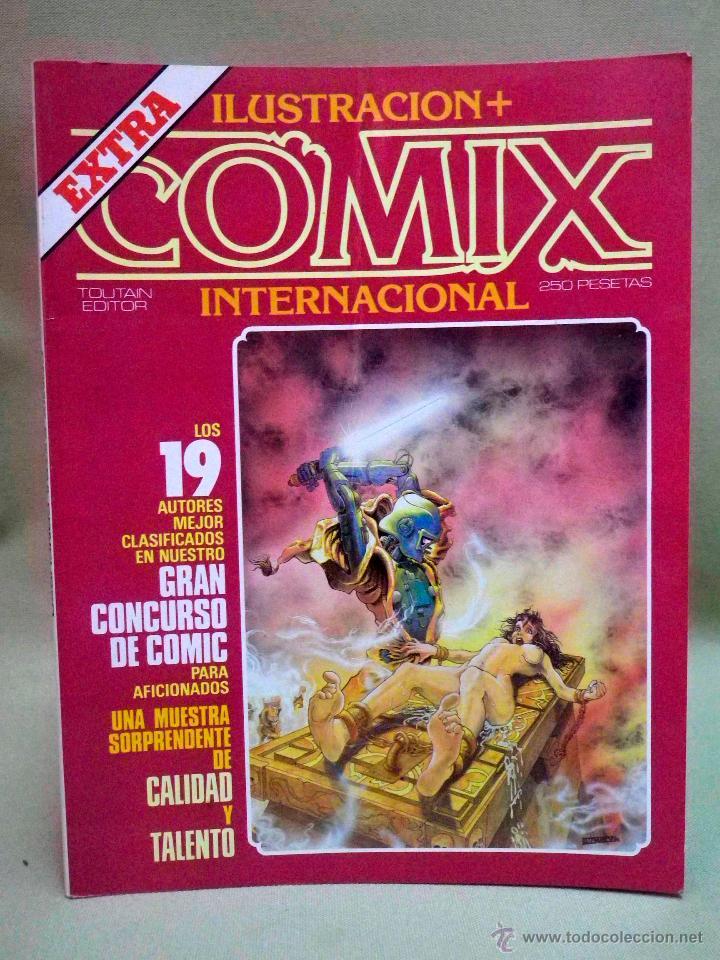 COMIC COMIX INTERNACIONAL, Nº EXTRA CONCURSO, TOUTAIN EDITOR (Tebeos y Comics - Toutain - Comix Internacional)