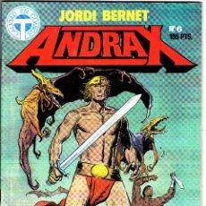 Cómics: ANDRAX DE JORDI BERNET. 5 NUMEROS. Lote 51068145