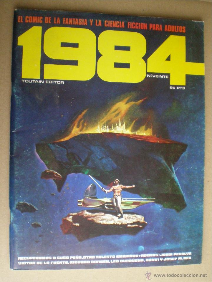 1984 Nº VEINTE 20 1978 // COMIC CIENCIA FICCION SCI-FI (Tebeos y Comics - Toutain - 1984)