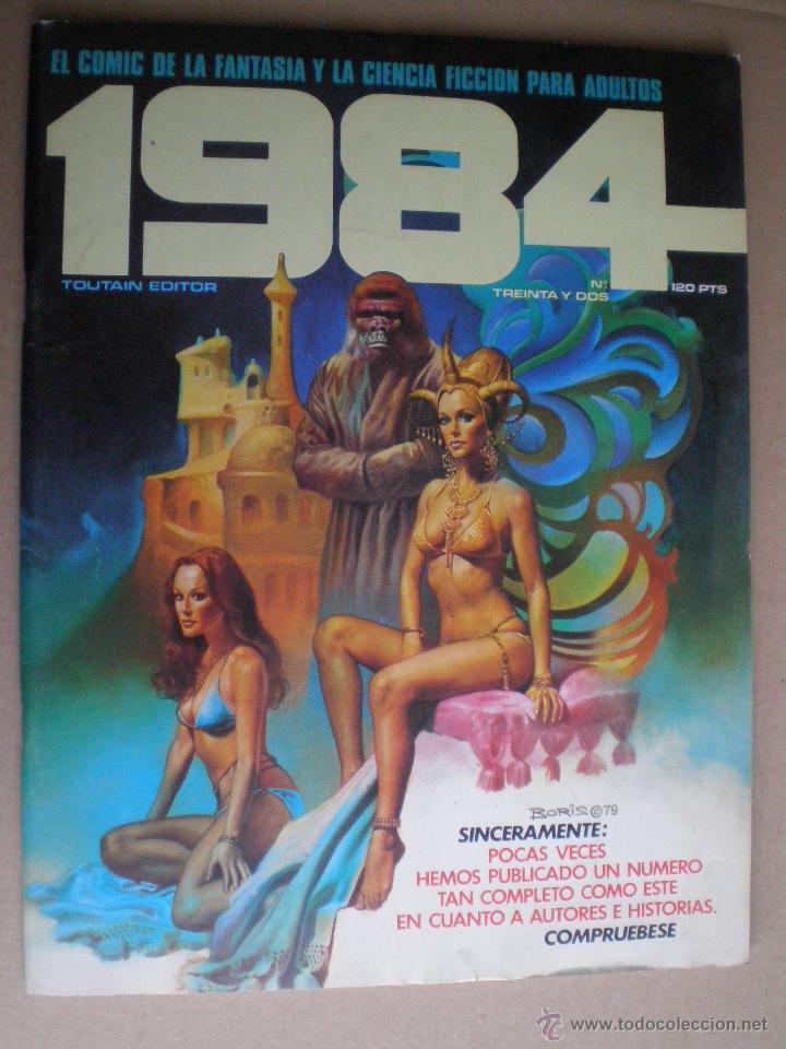 1984 Nº TREINTA Y DOS 32 1978 // COMIC CIENCIA FICCION SCI-FI (Tebeos y Comics - Toutain - 1984)
